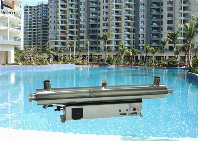 Water Treatment Swimming Pool Ozone Generator UV cleanr 3 - 30 Ton